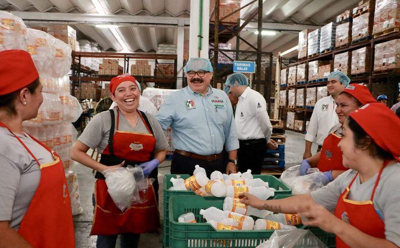 Apoyando a las empresas, ayudamos a generar más empleos, afirma el aspirante de la coalición Todos por México. (Milenio Novedades)