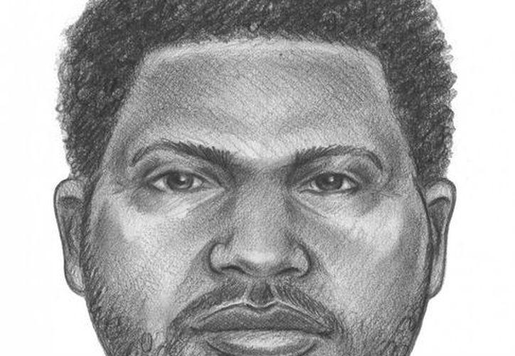 Boceto difundido por policía de Nueva York el miércoles 6 de junio de un sospechoso de asesinar a puñaladas a un niño de seis años y dejar herida de gravedad a una niña de siete años. (Agencias)