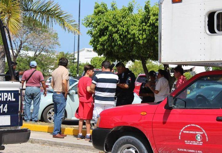 Un asalto con violencia se registró ayer a plena luz del día en Playa del Carmen. (Redacción/SIPSE)
