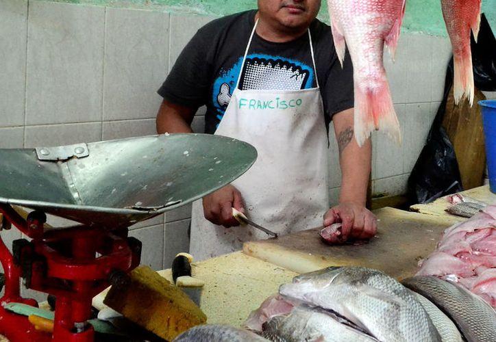 La Profeco sancionó a comercios y pescaderías, durante los operativos por la Cuaresma 2017. (Daniel Sandoval/SIPSE)