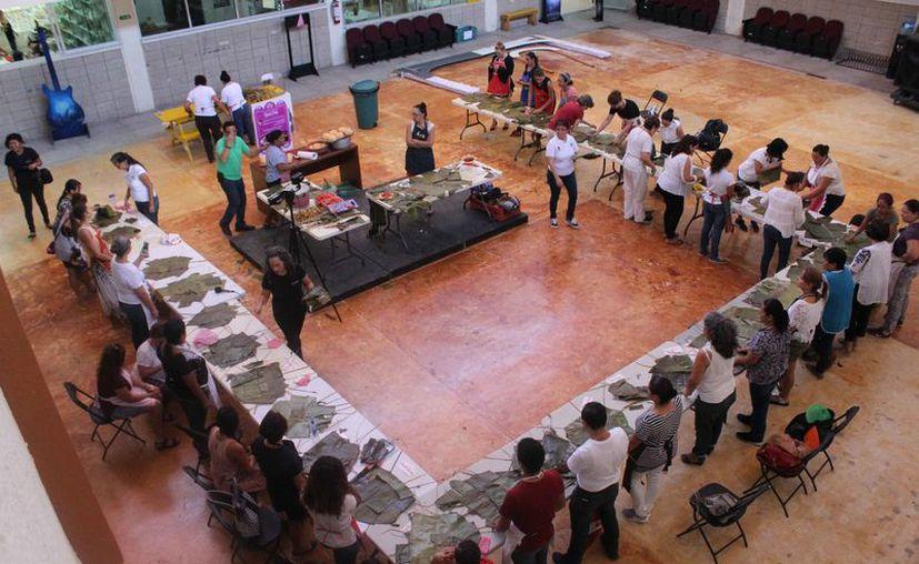 El taller se realizó en la Casa de la Cultura de Cancún. (Faride Cetina/SIPSE)