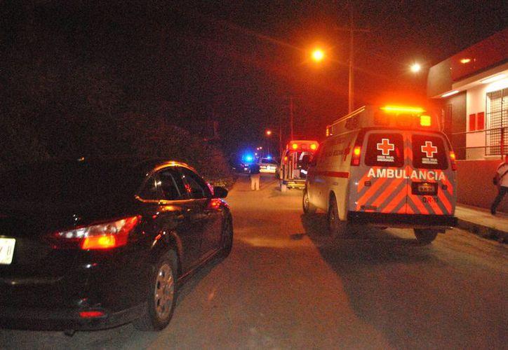 La persona baleada fue trasladada al Hospital General. (Redacción/ SIPSE)