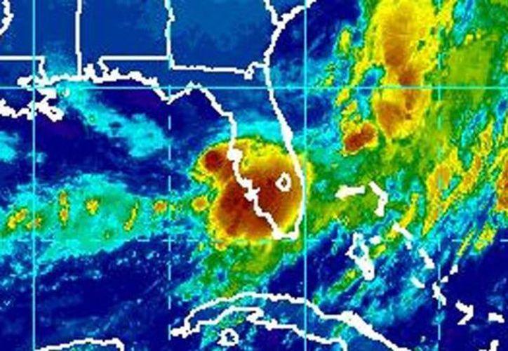 La tormenta tropical Emily se formó en el Golfo de México. (@remolachanews).