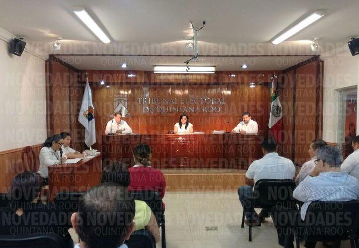 PES  solicitó el registro de candidatos, de forma individual. (Foto: Benjamín Pat)