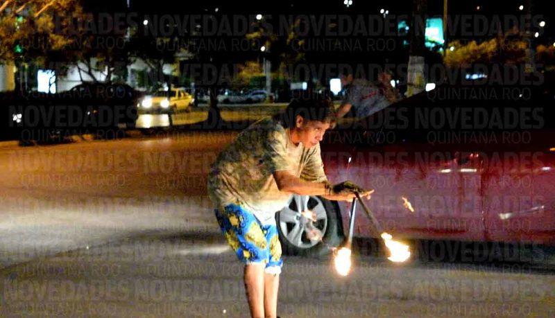 Cosen a puñaladas a ladrón en plena calle de Cancún