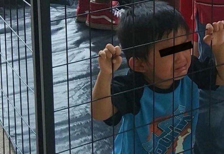 Muchos políticos estadounidenses critican la política de Trump pot separar a los niños de sus familias. (Facebook)