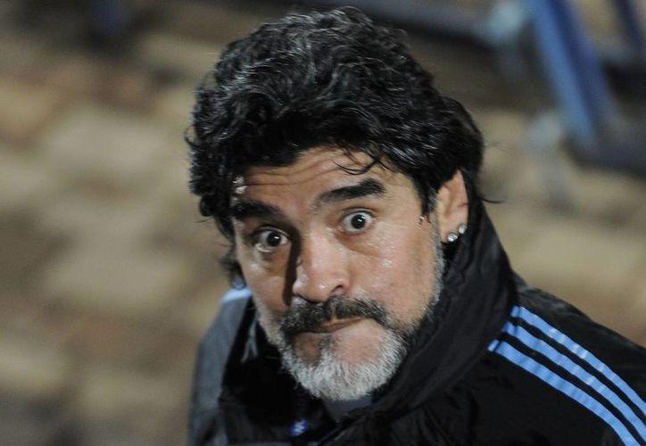 Diego Armando Maradona fue uno de los mejores futbolistas del mundo, pero desde que se convirtió en entrenador no ha brillado tanto. (fanshare.com)