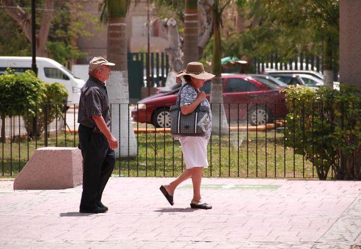 La Conagua informa que un sistema de alta presión mantendrá ambiente cálido a caluroso sobre gran parte del país, incluido Yucatán, en los próximos días. (Jorge Acosta/Milenio Novedades)
