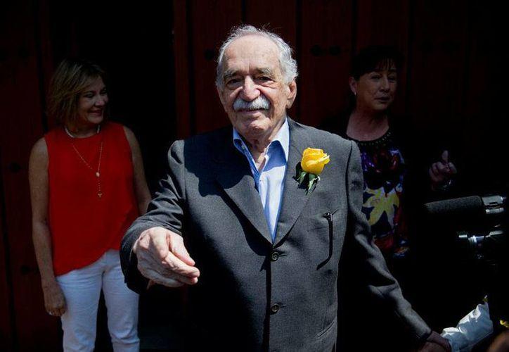 El escritor Gabriel García Márquez, cuyas obras en inglés, se publicarán en versión digital, cumplió  87 años en marzo pasado; falleció un mes después, en abril de 2014. (Archivo/AP)
