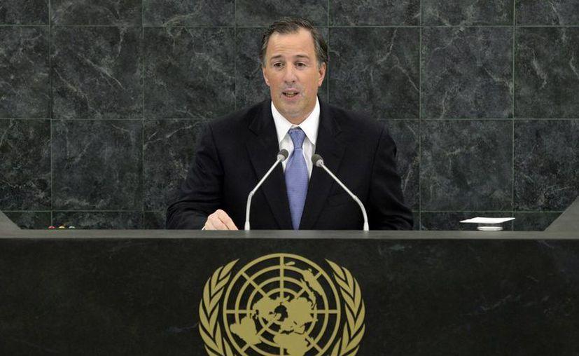 Meade dijo que México ha trabajado por décadas para hacer frente a los desastres naturales. (Agencias)