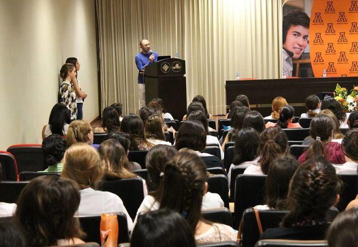 Esta mañana comenzó en la Universidad Anáhuac Mayab el Primer Congreso Internacional de Psicopedagogía. (Cortesía)