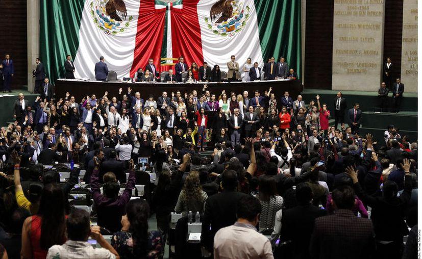 El presidente rechazó que haya esas irregularidades y corrupción en su administración. (Foto: Reforma)