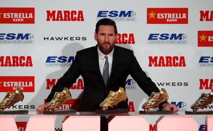 Aunque el crack del futbol no consiguió el Balón de Oro, recibió otro gran reconocimiento. (El País)