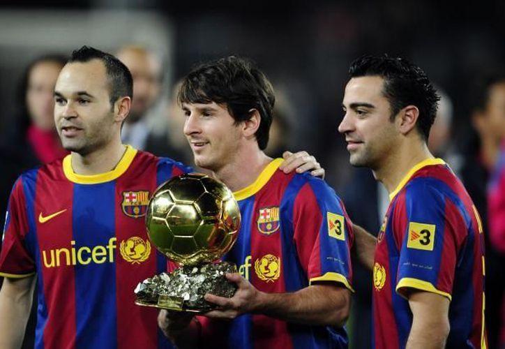 Messi podría convertirse en el máximo ganador del Balón de Oro con cuatro trofeos. (Foto: Agencias)