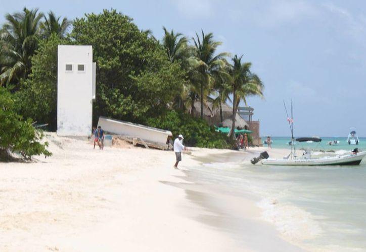 El proyecto esta condicionado para que no dañe las playas. (Carlos Calzado/SIPSE)