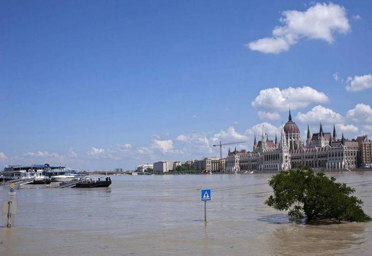 Las crecientes aguas del Danubio, el principal río de Europa, son un problema latente. (Agencias)