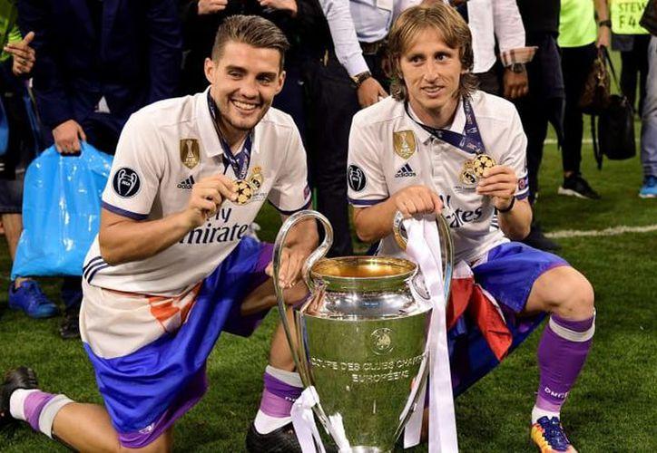 Los croatas Mateo Kovacic y Luca Modric serían los primeros croatas en ganar Champions y Mundial en un mismo año (Foto: 90min.com)