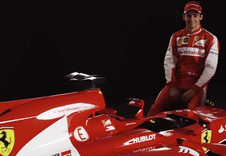 """El mexicano Esteban Gutiérrez será el piloto de pruebas del """"Cavallino Rampante"""". (Foto: Ferrari)"""