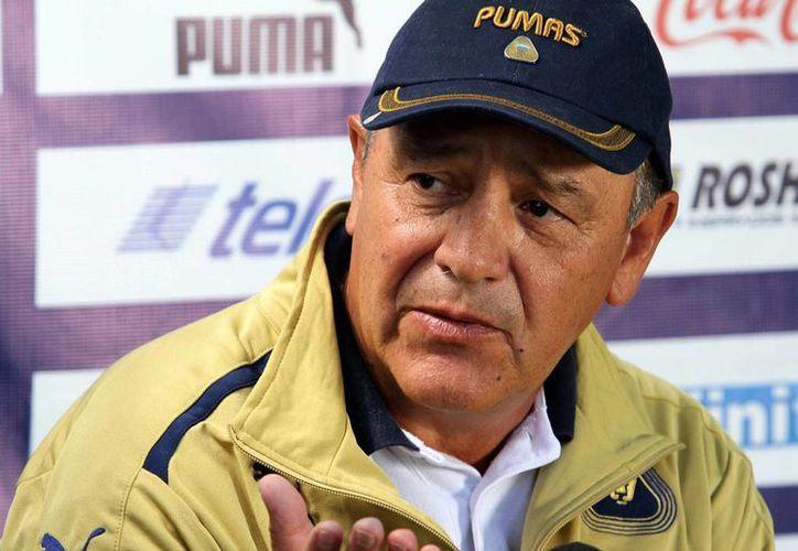 Trejo pide a los seguidores pumas que 'esperen un poco, que tengan calma y paciencia, el equipo se está formando'. (Notimex)