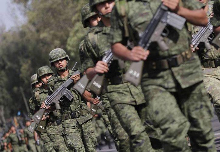 La guerra contra las drogas que lanzó en 2006 el presidente Felipe Calderón cobró la vida de 31 militares. (SIPSE.com)