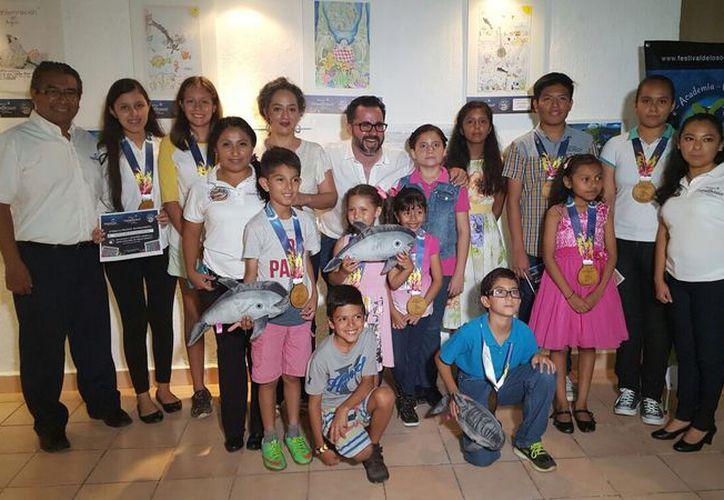 La fiesta de premiación del certamen fue en la Casa de la Cultura de Cancún. (Alejandra Flores/SIPSE)