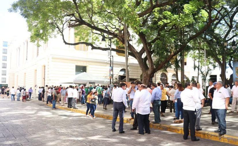 El Teatro José Peón Contreras será declarado como sede alterna del Poder Legislativo. (Daniel Sandoval/Milenio Novedades)