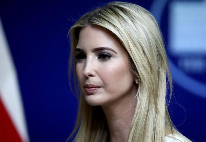 Ivanka es la hija mayor del mandatario de los Estados Unidos. (El Tiempo).