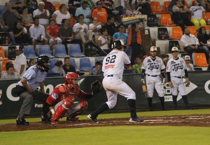 Jugarán hoy el tercero en el parque de pelota Beto Ávila. (Redacción/SIPSE)