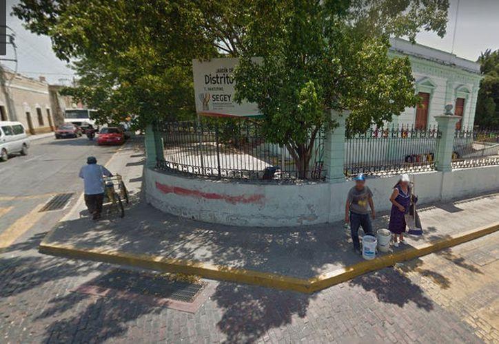 Los padres de familia del preescolar Distrito Federal exigen la conclusión de la obra. (Google Maps)