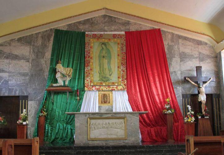Alrededor del 95% de las iglesias y parroquias católicas que existen en Chetumal, han sido saqueadas. (Ángel Castilla/SIPSE)