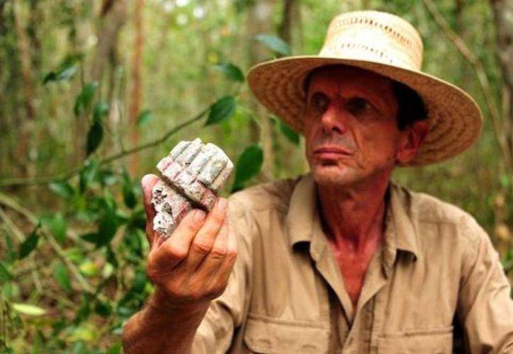 El arqueólogo Ivan Šprajc, líder del proyecto. (melty.fr)