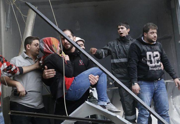 El Ministerio de Salud de Líbano informó que 20 personas resultaron heridas. (Agencias)