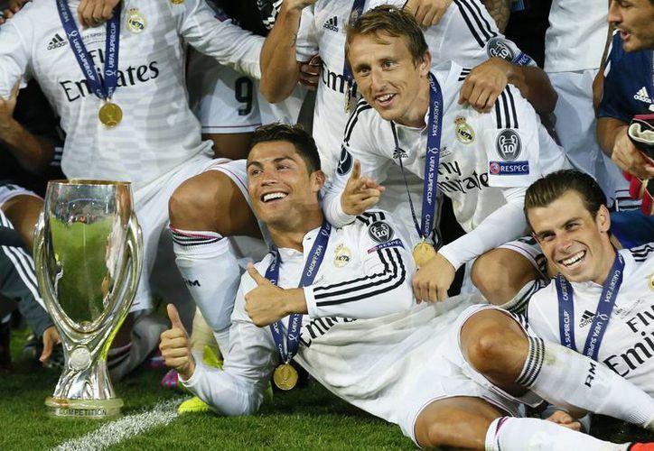 De la mano del astro portugués, el Real Madrid obtuvo el primer título de la campaña 2014-2015. (AP)