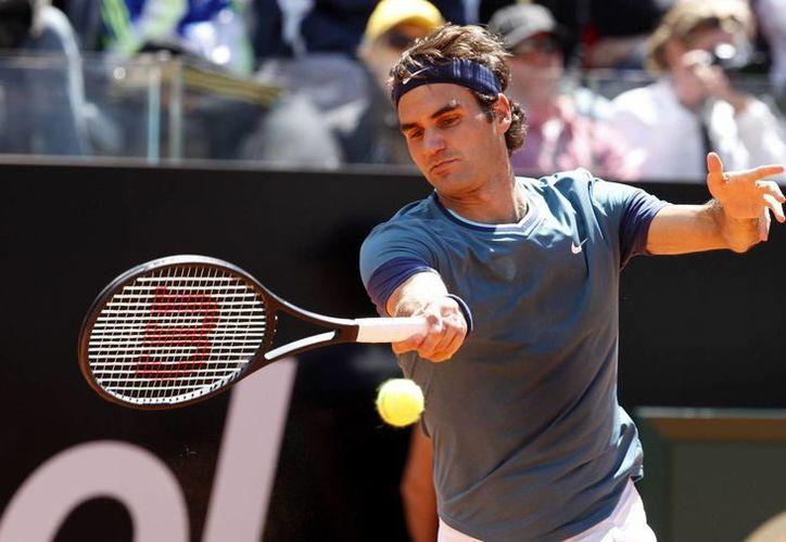 Federer sucumbió 1-6, 6-3, 7-6 (6) ante Chardy, que es 47mo en el ranking de la ATP. (Foto: AP)