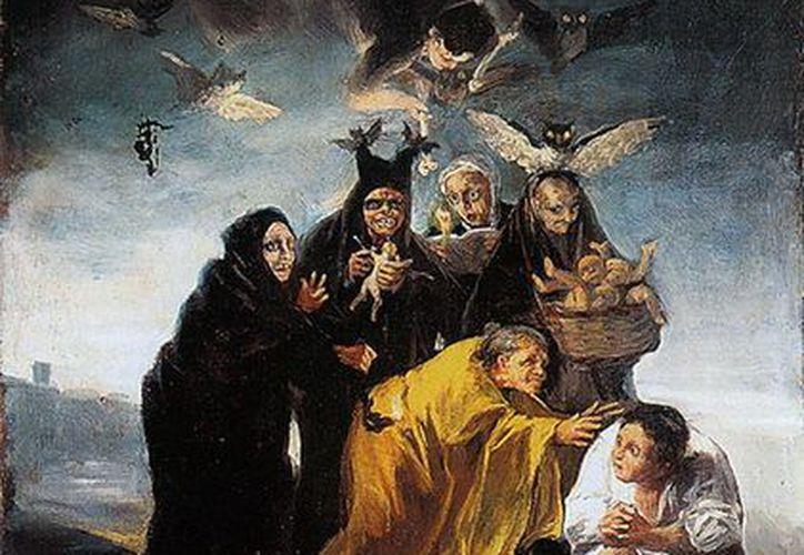 Nada como una buena selección musical para tener una terrorífica Noche de Brujas, tal y como las imaginó Goya. (museolazarogaldiano.files)