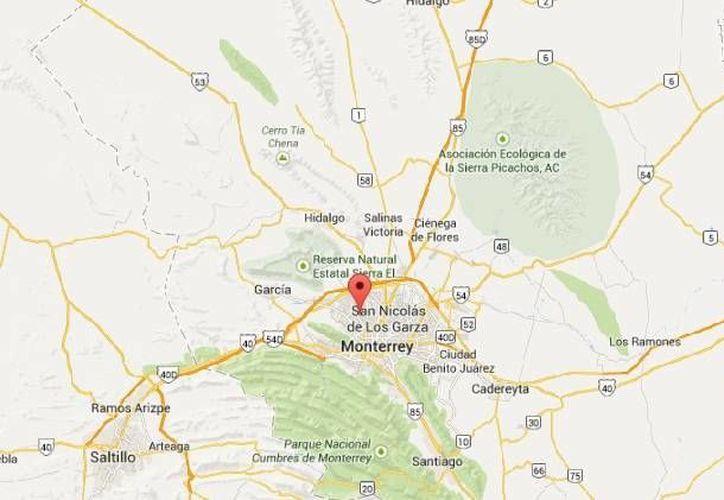 El hombre herido por la explosión en la colonia San Martín de Monterrey fue trasladado a un hospital por sus propios medios. (Google Maps)