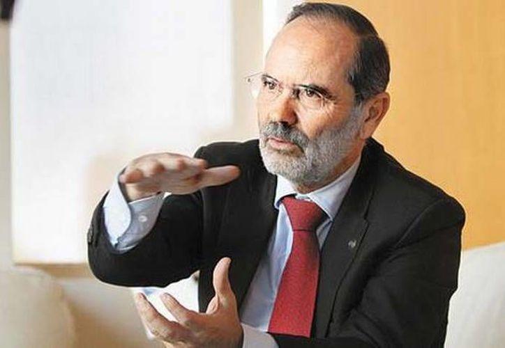 El líder panista defendió los beneficios que arrojó el acuerdo. (Héctor Téllez/MILENIO)