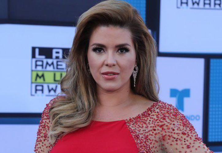 Alicia Machado participa en el programa de concursos de Telemundo Gran oportunidad. (Contexto)