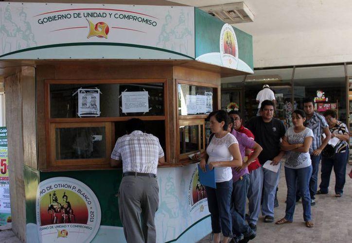 El Ayuntamiento othonense pagará en tiempo y forma los 6.5 millones de pesos correspondientes a la segunda quincena de febrero, aseguró el síndico, Pablo Moreno Povedano. (Ernesto Neveu/SIPSE)