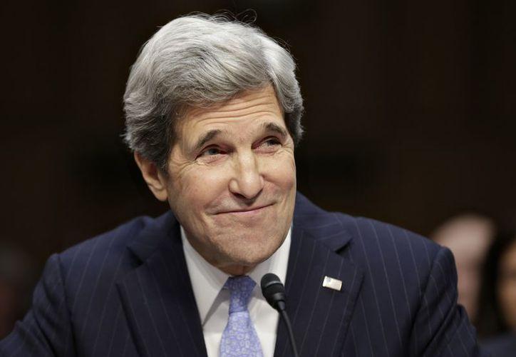 Kerry hizo notar que en los últimos años el combate al crimen en México había sido 'altamente militarizado'. (Agencias)