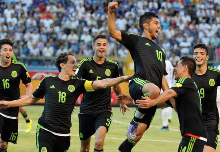 Selección mexicana rumbo al mundial Rusia 2018. (Foto: SIPSE)