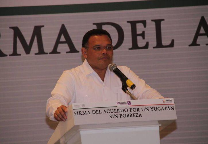 El gobernador Rolando Zapata asistirá este viernes al CIII aniversario del Día del Ejército Mexicano, y además tiene otros tres eventos programados. (Jorge Acosta/Milenio Novedades)