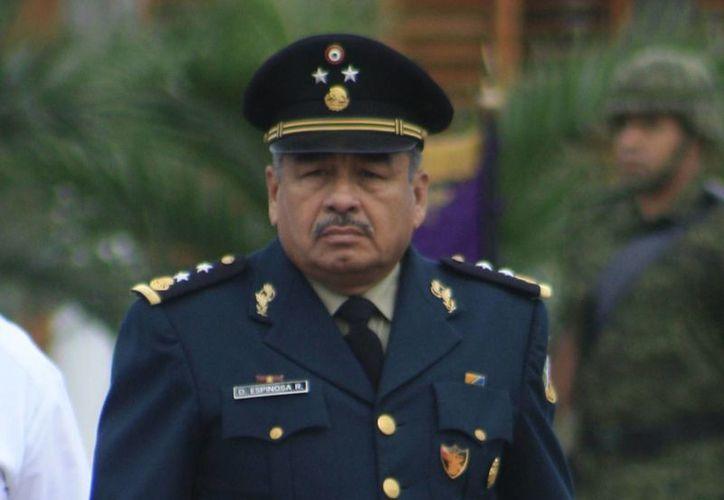 El general Dagoberto aún no se ha reunido con o no se ha reunido con autoridades de seguridad de Othón P. Blanco. (Archivo/SIPSE)