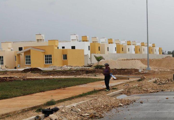 En la zona norte del estado se otorgan más créditos para vivienda. (Jesús Tijerina/SIPSE)