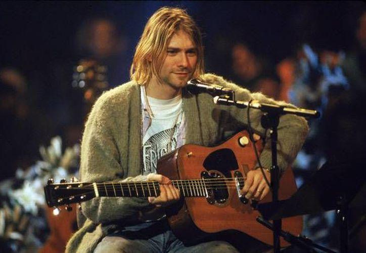 Además de la canción de Nirvana, también ingresaron 24 grabaciones de artistas reconocidos.En la foto, Kurt Cobain, ex vocalista de Nirvana, durante el Unplugged de MTV.(Archivo/AP)