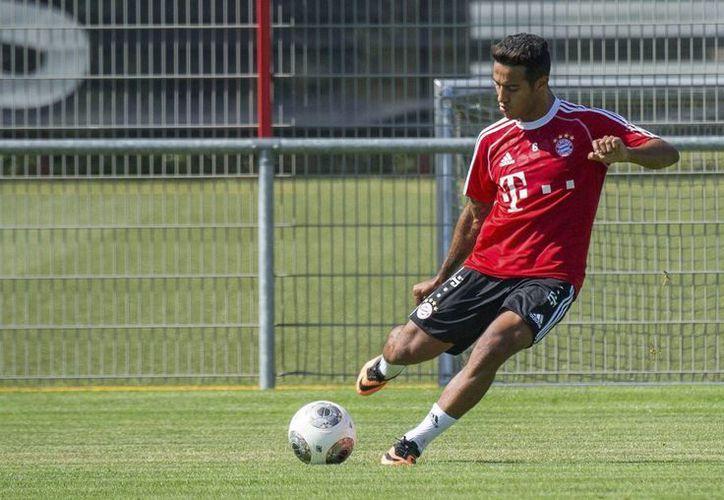 Thiago Alcántara ya fue operado, pero se perderá el que iba a ser su primer Mundial. (EFE)