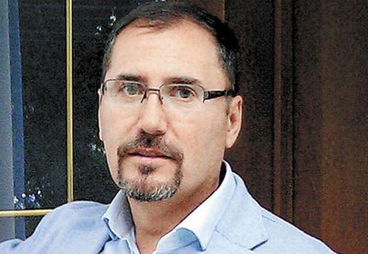 El español David Rivas Huete, supuesto especialista en seguridad privada. (Milenio)