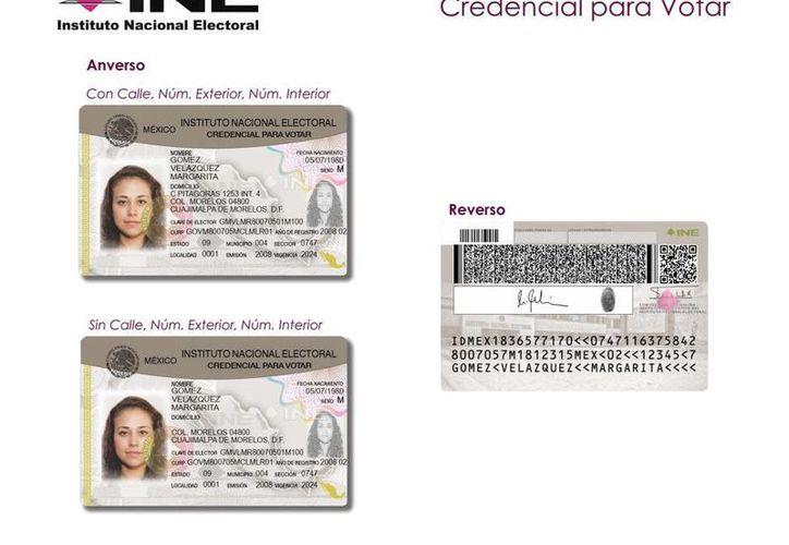El nuevo diseño de la credencial será expedido a partir del mes de junio. (Página oficial del INE)