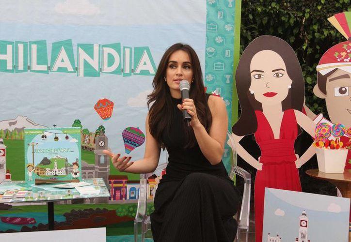 La actriz Ana de la Reguera participará en la nueva serie de Blim 'Sincronía'. (Archivo Notimex)