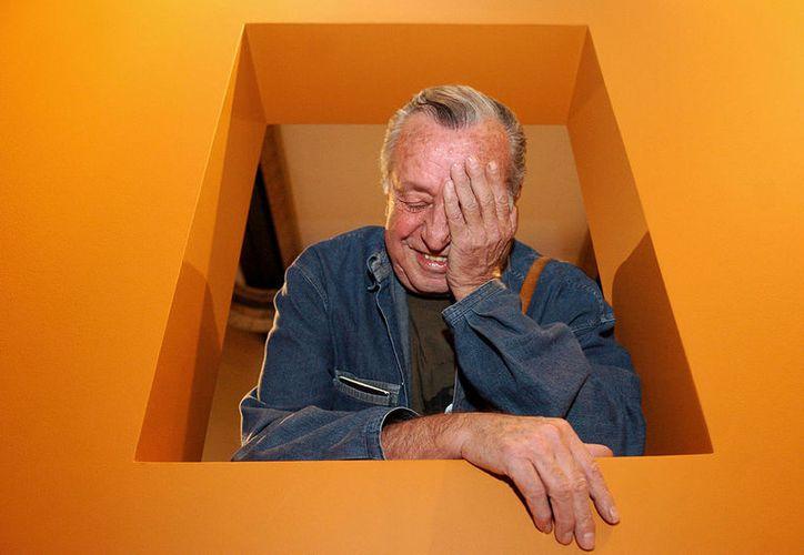 Rius, cerró su libreta al morir ayer a los 83 años de edad, en Tepoztlán, Morelos. (Foto Milenio Novedades)